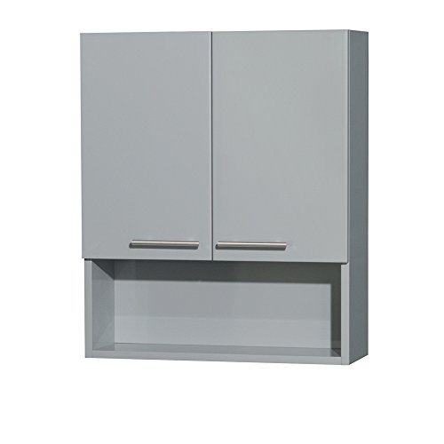 Wyndham Collection WCRYV207DG Amare Wall Cabinet, Dove Gray