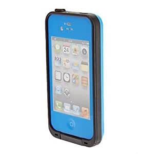 SHOUJIKE Airtight Tough Protective Waterproof Plastic Cover Case for iPhone 4/4S , White