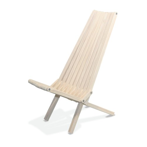 GloDea X45 No Knots Selection Lounge Chair, Bride's Veil (Belize Outdoor Furniture)