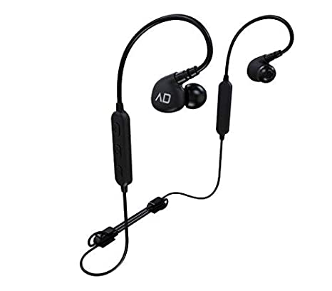 bf8baa14cea Amazon.com: Alpha & Delta D2W HiFi Sports Sweat Resistant Bluetooth Sports  Earphones: Home Audio & Theater