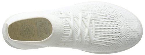 Fitflop Vrouwen Uberknit Slip-on High Top Sneakers Stedelijk Wit