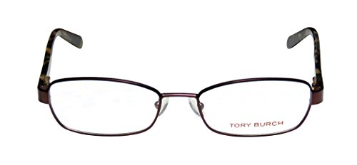 [Tory Burch 1027 Womens/Ladies Designer Full-rim Flexible Hinges Eyeglasses/Spectacles (52-17-135, Merlot /] (Bertha Red Costumes)