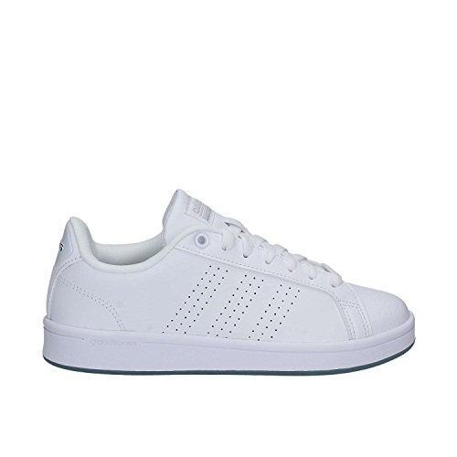 Sneakers Blanc adidas Ftwbla Plamat Ftwbla Cloudfoam Basses Advantage Femme qSxTW7FwEA