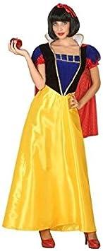 Atosa-39376 Disfraz Princesa de Cuento, Color Amarillo, M-L (39376)