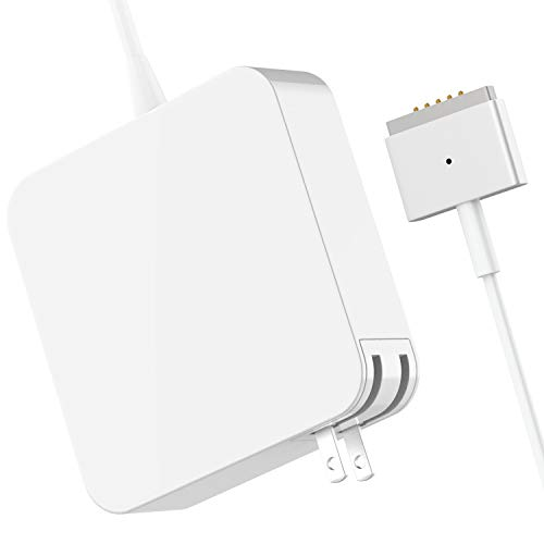 Mac Book Pro Charger, 60W Replacement T-Tip Power Adapter Magsafe 2 Magnetic Connector Charger Compatible with Mac Book Pro 13-inch Late 2012