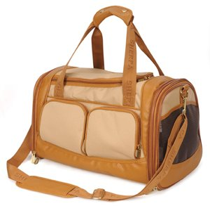 - Sherpa 66237 Amelia Pet Carrier, Medium, Tan with Sand Trim