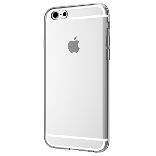 EasyAcc iphone 6S 6 Hülle Case Transparent Handyhülle Schutzhülle Durchsichtig TPU Crystal Clear Case Backcover Bumper Slimcase