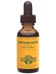 Hawthorn Blend Extract 8 Ounces by Herb Pharm Large by Herb Pharm Large
