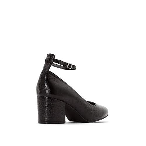 Alla Nero Ballerine Tacco Redoute R La Caviglia Cinturino Donna Mademoiselle Con Bw8vavqTx