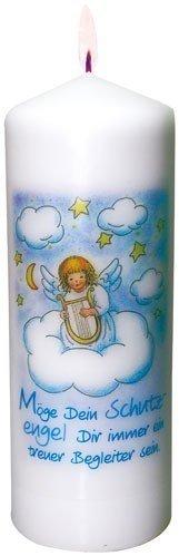 Unbekannt Taufkerzen Taufkerze mit Engel auf Wolke
