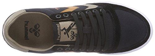 Hummel HUMMEL SL STADIL CANVAS LO - zapatilla deportiva de lona Unisex adulto negro - negro (Black 2001)