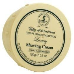 (St. James Collection Shaving Cream Bowl 150g shave cream by Taylor of Old Bond Street)