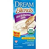 Dream Blends Original Unsweetened Enriched Rice and Quinoa Rice Beverage, 32 Fluid Ounce - 6 per case.