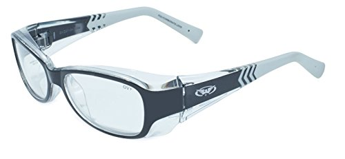Global Vision Eyewear RX Safety Series RX-E in Clear UV400 Filter & ANSI Z87.1-2010 - Prescription Safety Glasses