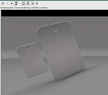 6x4-2pcs Mofvg Fogless Mirror Fog Shower Mirror Shaving Shatterproof Fogfree No Fog Mirrors with Two Adhesive Hooks