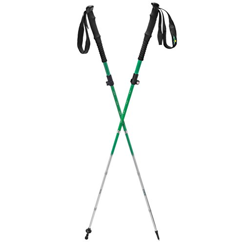 Vertex Lightweight Collapsible Carbon Hiking Poles, Pair