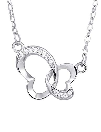 (Ilikie s925 Sterling Silver Necklace
