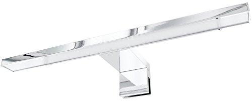 LED Aluminium Spiegelleuchte Aufsatzleuchte IP44 Badleuchte 230V - 4,5W 220lm - warmweiß (3000 K)