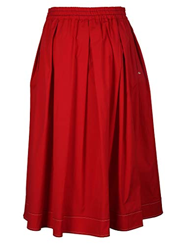 Fay Cotone Donna Gonna Nxw9236696s0fkr003 Rosso 0AO0Rwrq