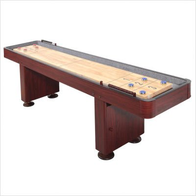Carmelli Dark Cherry 9 Foot Shuffleboard Table - Laminate Pub Table