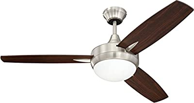 Craftmade Targas Ceiling Fan with LED Light & Wall Control
