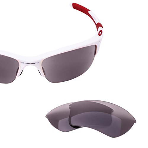 Oakley Half Jacket 2.0 XL Lens Replacement - Gray Polarized with Chrome Mirror Lenses