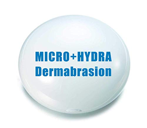 Worldzx Micro dermabrasion Plus Hydra dermabrasion Hydradermabrasion Vacuum Cleaner Blackhead Remove Comedo Removal Microdermabrasion Machine Facial Device Facial (Lymphatic System Neck Head And)