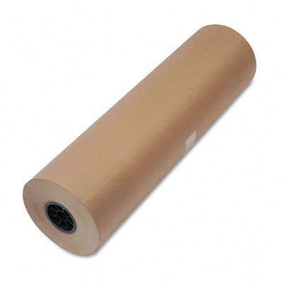 united-facility-supply-1300046-50-lb-heavyweight-hi-volume-kraft-9-dia-wrapping-paper-roll-30wx720-f