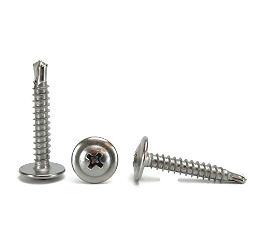 8 stainless steel screws 1 inch - 9