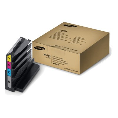 Samsung CLT-W406 OEM Miscellaneous - CLP-365W CLX-3305FW Xpress C410W C460FW Waste Toner Bottle (7000 Yield Black 1750 Yield Color)