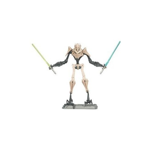 Star Wars 2010 Clone Wars Animated Action Figure CW No. 10 General Grievous - General Grievous Toy