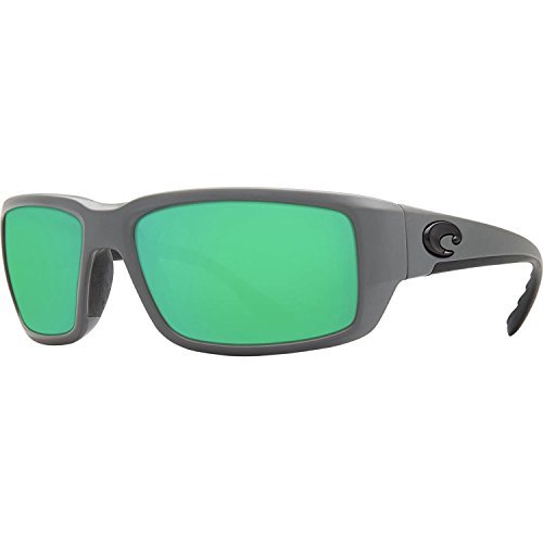 Costa Del Mar Fantail 580G Fantail, Matte Gray Green Mirror, Green ()