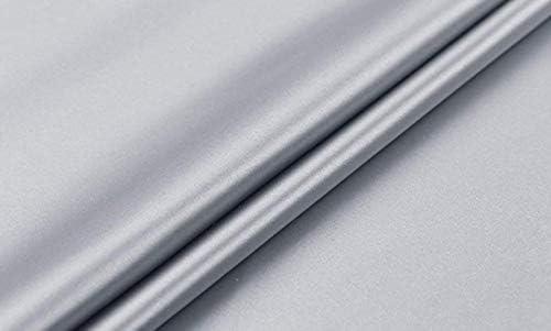 スキンケアクイーンサイズキングサイズサイズ両面マルベリーシルク枕カバー主婦ピローケース枕カバーシャム,シルバーグレー,キングサイズ