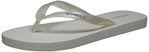 O'Neill Fw Basic - Chanclas Mujer Weiß (Powder White)