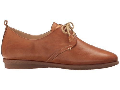 Pikolinos de mujer, zapato sport de cordones en piel,w9k-4623 brandy. marron oscuro