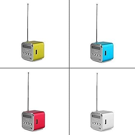 Amazon.com: YIGEYI Mini altavoz Bluetooth Estereo ...