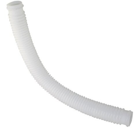 - 1-1/4 Inch x 3 Foot Long White Above Ground Pool Flex Connection Hose Filter or Suction