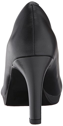 Clarks Femmes Adriel Alto Robe Pompe En Cuir Noir