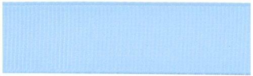 Kel-Toy Polyester Grosgrain Ribbon, 5/8-Inch by 25-Yard, Light ()