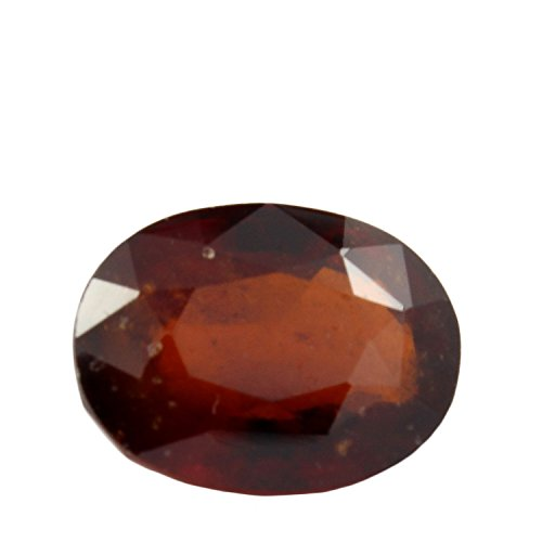 Be You 8.55cts Orange Couleur Facettes Ovale Forme Laboratoire Certifiée Naturel Odisha Hessonite
