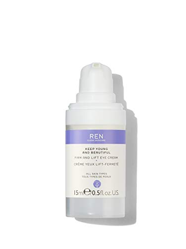REN Clean Skincare Keep Young & Beautiful Firm And Lift Eye Cream, 0.5 Fl Oz