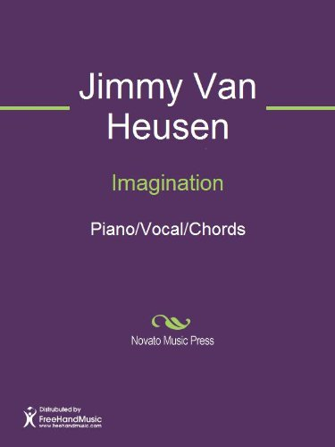 Imagination Sheet Music Pianovocalchords Kindle Edition By
