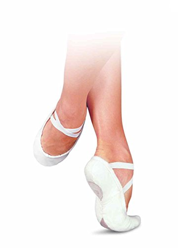 Sansha Hvite Lerret Ballett Tøfler ~ Splitt Såle Pro1 C Hvit Stor Europeisk  Kvalitet!