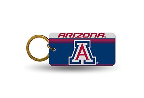Rico NCAA Arizona Crystal View Keychain, 4 x 3, Logo Color