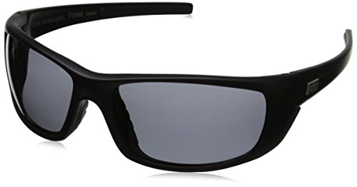 Gone Fishing Pismo Polarized Wrap Sunglasses, Matte Black, 63 - Pismo Glass