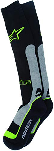 (Alpinestars Men's 4702014-178-LXL Sock (Coolmax) (Green, Large/X-Large))