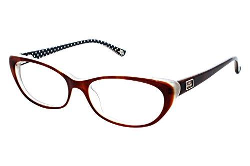 Lulu Guinness Women's Optical Eyeglasses L867 Havana Size 50 (Lulu Frames)