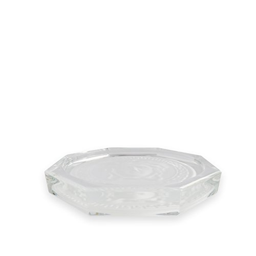 Rosenthal Versace Glass Coaster Medusa Lumiere | Elegant Crystal Coaster Designed by Gianni Versace by Rosenthal (Image #1)