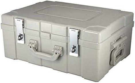 YLiansong-home Caja de Efectivo, Dinero en Efectivo de la Caja plástica Caja de Acero Cash Box Caja de Transferencia Gris 520x370x220MM por Dinero en Efectivo (Color : Gris, tamaño : 520x370x220MM): Amazon.es: