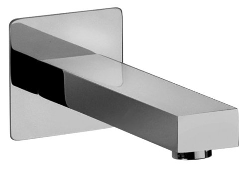 Jewel Faucets 12430  Modern Cast Brass Tub Spout and Trim in Chrome from Jewel Faucets